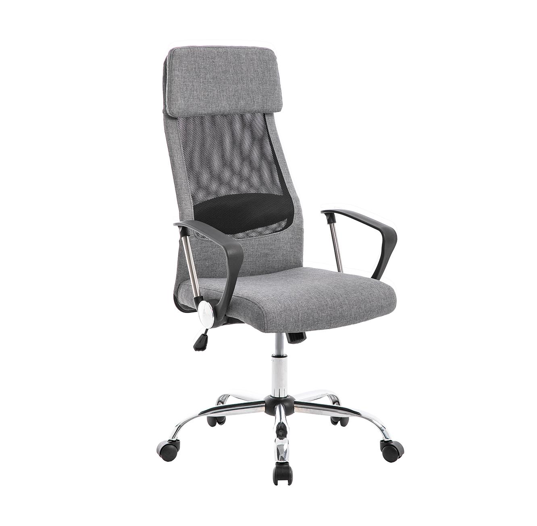 כסא מנהלים אורתופדי המעניק נוחות מריבית עם מבנה ארגונומי ומושב גבוה ומרופד TAKE IT - משלוח חינם - תמונה 2