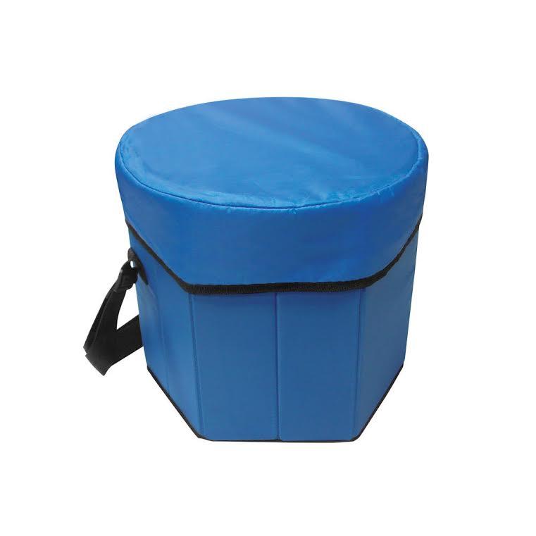 צידנית משולבת כסא – מתאימה לתכולה גדולה של מזון לפיקניק והופכת לכסא ישיבה - תמונה 2