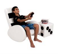 ספה לעיצוב חדר הילדים בעיצוב פלייסטשיין 4 אקס בוקס - קוקולה
