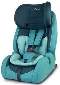 כסא בטיחות משולב בוסטר Advance עם 2 זויות ישיבה וחיבור איזופיקס - טורקיז