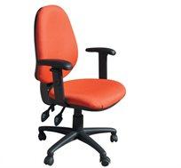 כסא משרדי אורטופדי מעוצב לתמיכה בגב דגם אופק