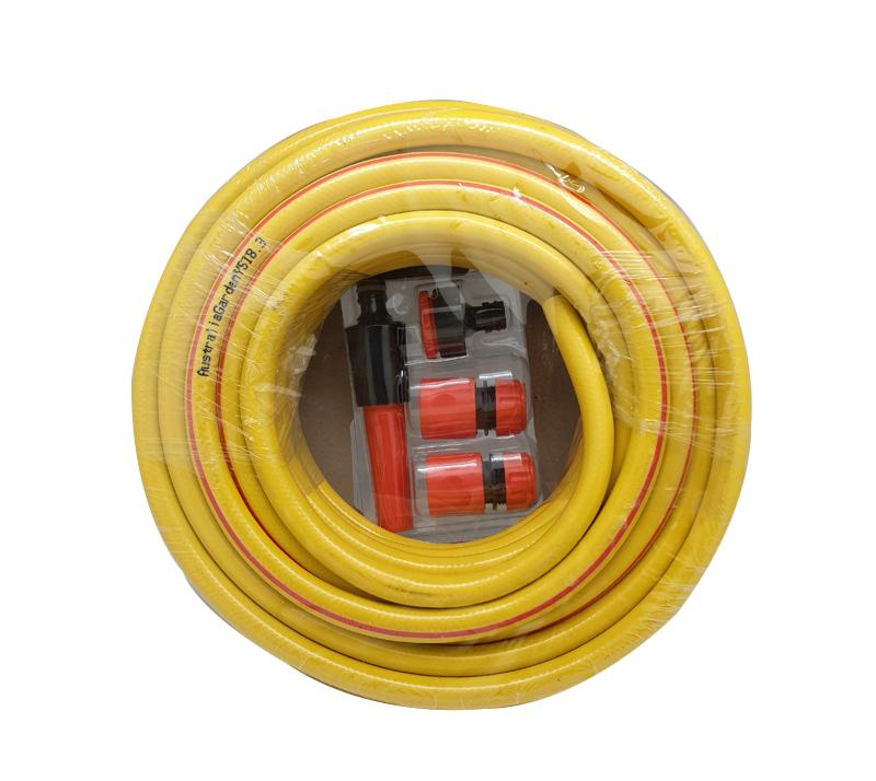 צינור השקייה 50 מטר צהוב