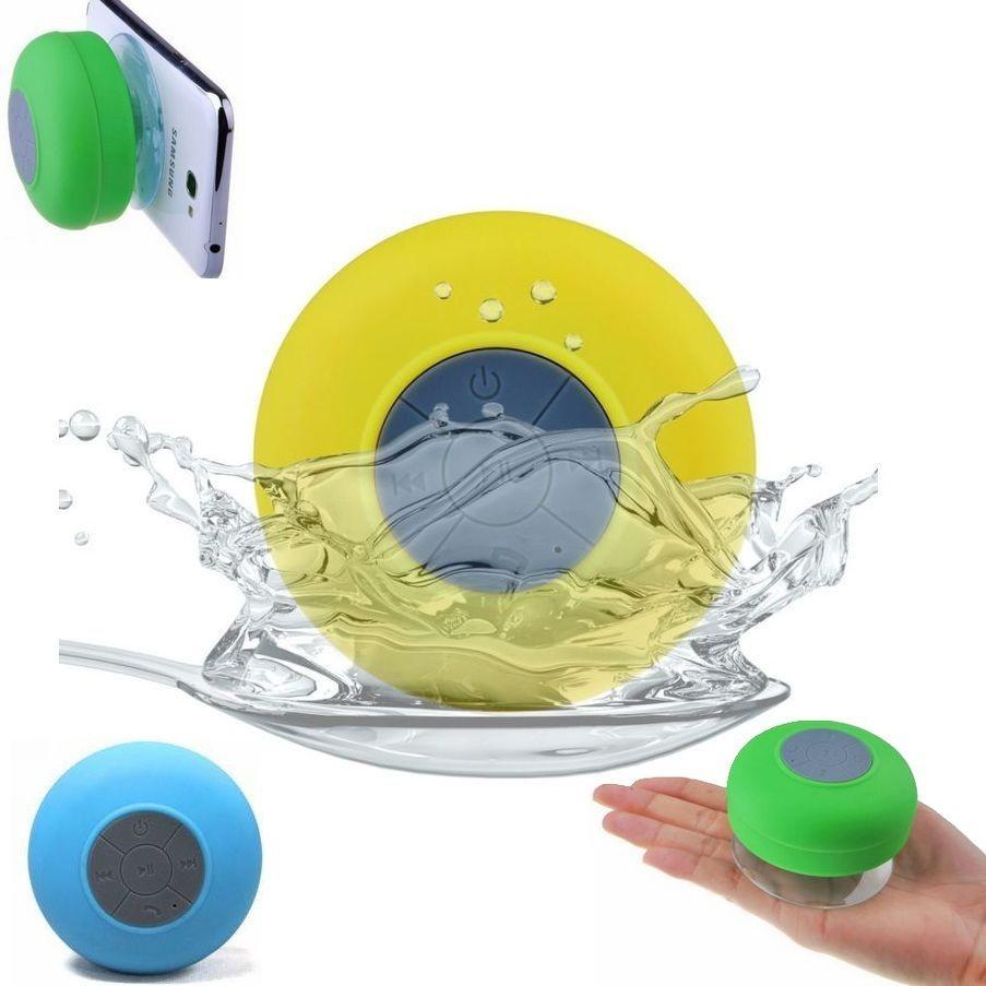 רמקול דיבורית Bluetooth עמיד מים בשלל צבעים גימור גומי עמיד Pure Acoustics