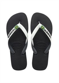 Havaianas יוניסקס//  Brasil Mix Black/White