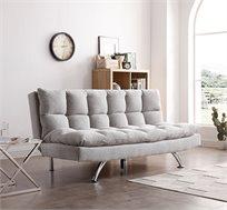 ספה נפתחת למיטה תלת מושבית בעיצוב מודרני מתאימה לפינות וחדרי אירוח