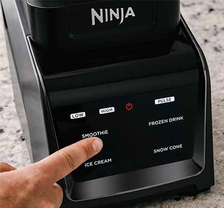 מעבד מזון NINJA נוטרי בלנדר ושייקר מקצועיים Intelli-Sense Blender Duo  דגם CT641 - משלוח חינם - תמונה 3