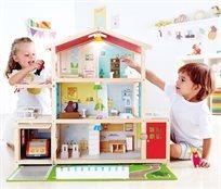 בית בובות ענק ומאובזר 'האחוזה המשפחתית'