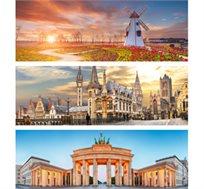 8 ימי טיול מאורגן באירופה - הולנד, לוקסמבורג, גרמניה ובלגיה  החל מכ-$696*