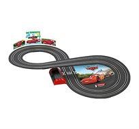 מסלול מכוניות מותגים באורך 2.4 מטר כולל 2 מכוניות