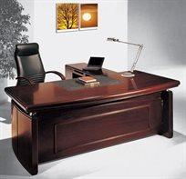שולחן מנהלים בעל מראה עץ יוקרתי למשרד דגם 220