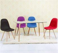 שולחן פינת אוכל חדשני בגדלים לבחירה עם אופציה לכיסאות מרופדים בצבעים לבחירה דגם C290 החל מ-₪399