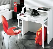 עודפים - שידת קומודה משולבת עם שולחן עבודה CONSOLE DESK כולל 2 מגירות