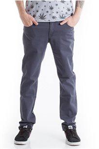 ג'ינס טוויל בגזרת סלים פיט SUPPLY בצבע אפור