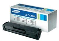 טונר מקורי במחיר מצחיק! טונר מקורי SAMSUNG CLT C508L בצבע כחול כולל אחריות!