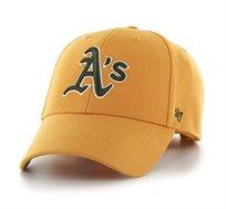 כובע ATHLETICS - צהוב