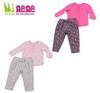 קולקציית חורף 2015 ב-Minene! חליפה מעוצבת לבנות עשויה 100% כותנה רכה במגון מידות לבחירה
