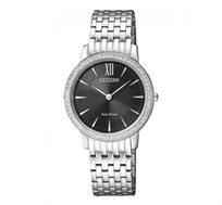 שעון יד סולארי לאישה CITIZEN ללא צורך בסוללה, עם זכוכית עמידה בפני שריטות