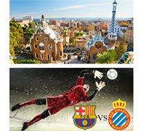 3 לילות בברצלונה כולל כרטיס למשחק ברצלונה מול אספניול החל מכ-€399* לאדם