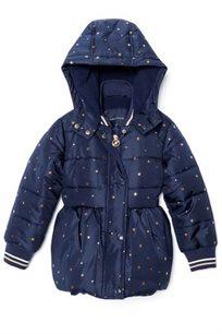 NAUTICA מעיל (12 חודשים - 4 שנים) כחול כוכבים זהב