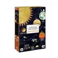 פאזל זוהר בחושך 200 חלקים- מגלים את כוכבי הלכת - Londji