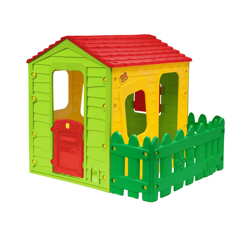בית ילדים עם חצר