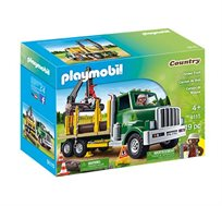 משאית עם מנוף - משחק לילדים - משלוח חינם