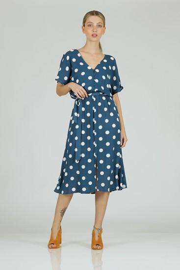 שמלה עיגולים