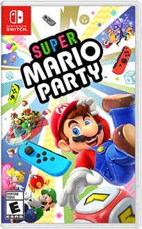 Super Mario Party Nintendo Switch נינטנדו סוויץ'
