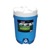 מיכל מים קשיח 11.4 ליטר מושלם לים ולקמפינג CAMPTOWN