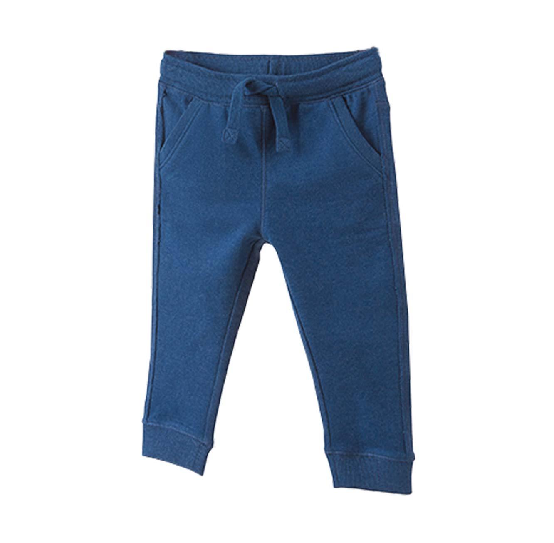 מכנסים OVS עם הדפס לפעוטות - כחול