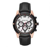 שעון כרונוגרף אופנתי לגבר MICHAEL KORS דגם MK8489 עשוי פלדת אל חלד ועמיד במים עד 100 מטר