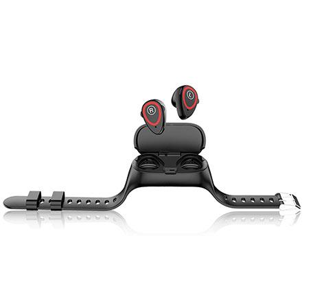 שעון ספורט חכם + זוג אוזניות סטריאו TWS מתחבר בקלות לסמארטפון IPHONE/ANDROID באמצעות Bluetooth - משלוח חינם - תמונה 2