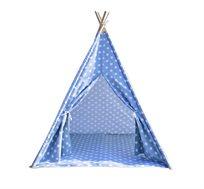 אוהל טיפי מעוצב לחדרי ילדים ב-4 דגמים לבחירה