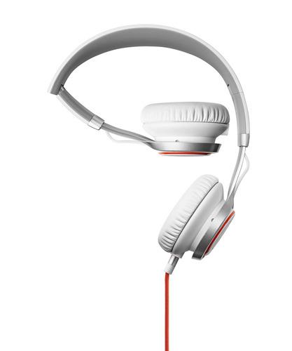 אוזניות קשת Jabra דגם REVO צבע לבן - משלוח חינם - תמונה 2