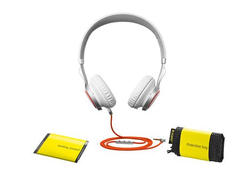 אוזניות קשת Jabra דגם REVO צבע לבן - משלוח חינם - תמונה 3