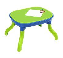 שולחן מולטי פליי לילדים עשוי מפלסטיק קשיח ואיכותי