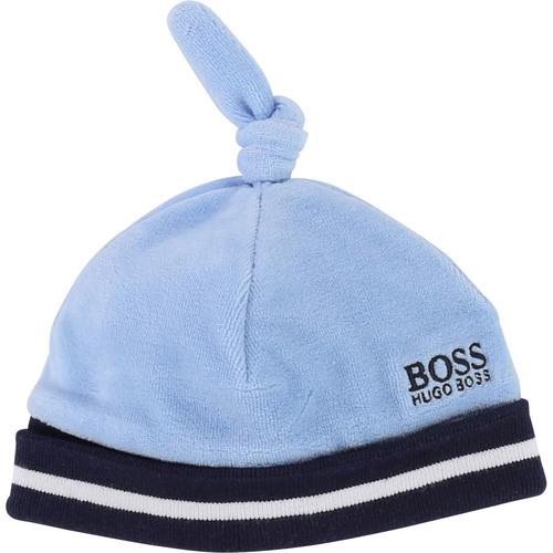 Boss / בוס כובע קטיפה - תכלת