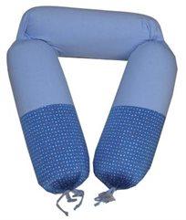 כרית הריון והנקה שרון דרור, דגם 321 - כחול נק'