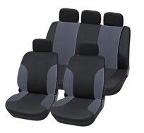 סט כיסויים לכל מושבי הרכב עשויים מבד נעים ואיכותי דגם HAVANA