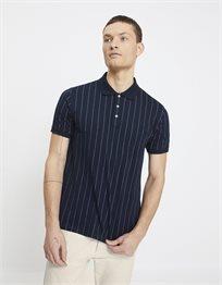 חולצת פולו שרוול קצר פסים