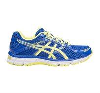 נעלי ספורט לאישה Asics ג'ל אוברון 10 בצבע כחול/צהוב