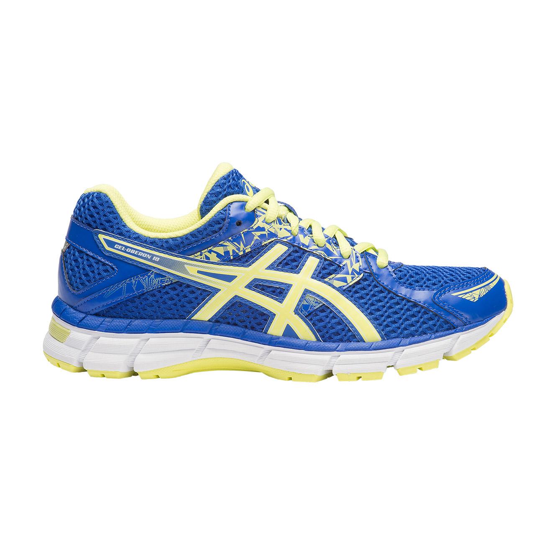 נעלי ספורט לאישה ג'ל אוברון 10 - כחול/צהוב