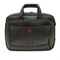 Swiss Travel Club - תיק עסקים ייעודי למחשב 4015 בצבע שחור