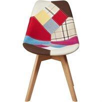 כיסא לפינת אוכל Patchwork Joy - צבעוני - משלוח חינם