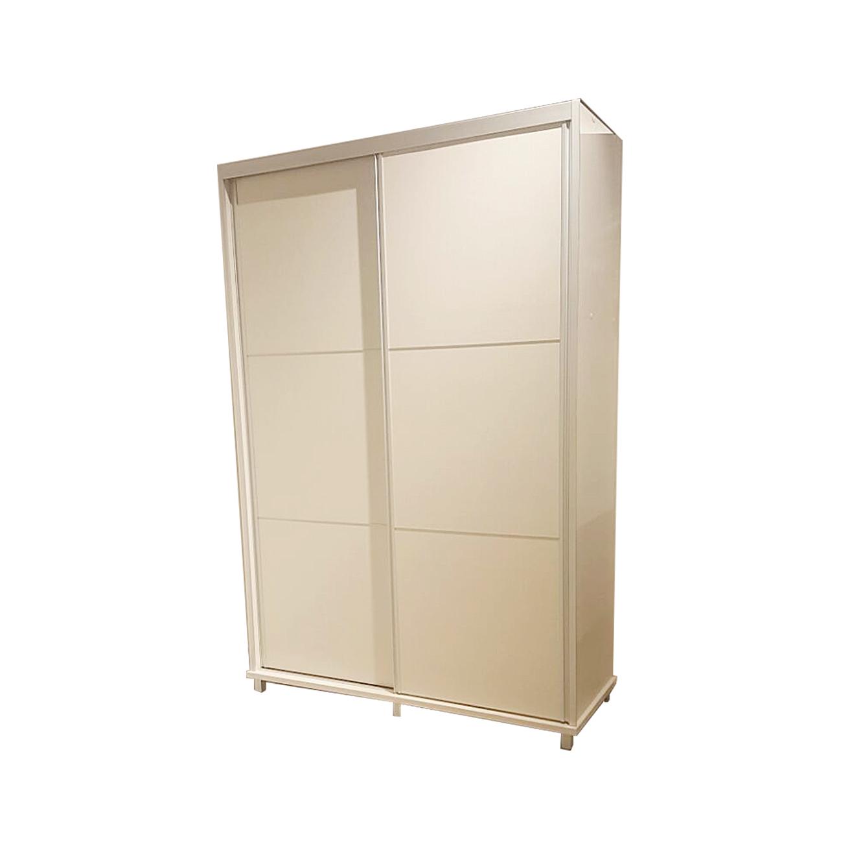 ארון הזזה 2 דלתות כולל טריקה שקטה על במה רגלי אלומיניום דגם אורין