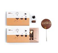 מארז פינוק מושלם לזוג מאוהב Roy Chocolate