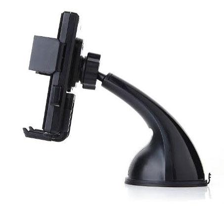 מעמד XL EASY ONE TOUCH לסמארטפון הנצמד לחלון או לדשבורד, מאפשר נעילה ביד אחת ומתאים למגוון מכשרים - תמונה 2