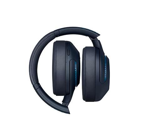 אוזניות אלחוטיות Sony WH-XB900N Bluetooth מיקרופון מובנה עם ביטול רעשים - משלוח חינם - תמונה 2