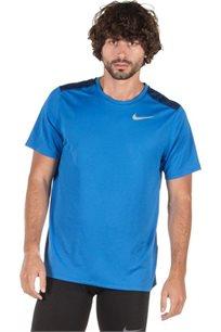 חולצת ריצה לגברים - כחול