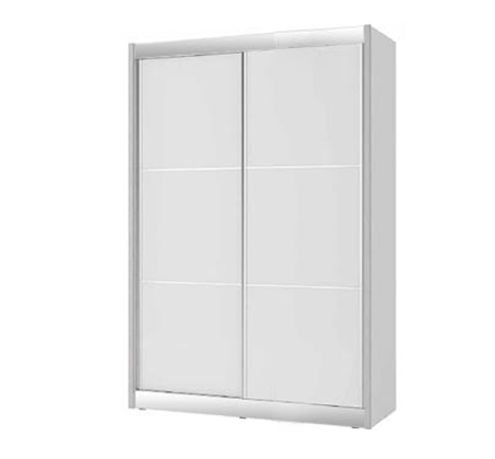 """ארון הזזה 2 דלתות כולל טריקה שקטה 160/240 ס""""מ דגם בניה"""